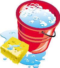 Sudsy water bucket