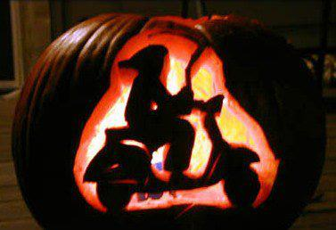 Scooter pumpkin