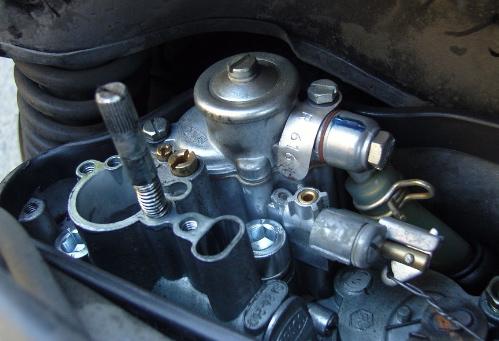 PX 150 carburetor