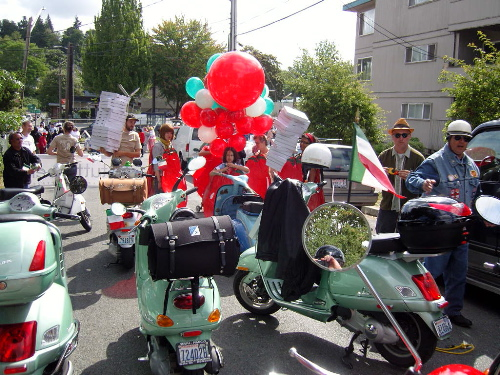 Rainier Valley Heritage Parade staging area