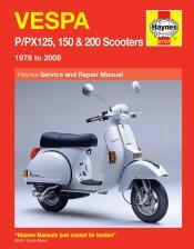 Haynes Vespa P/PX manual