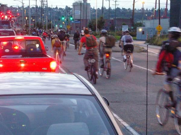 Critical Mass ride, Sept. 26