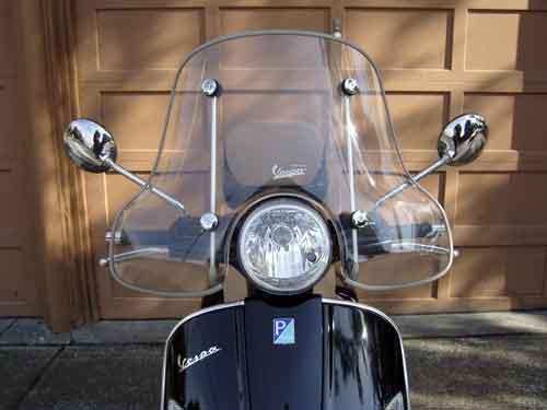 GTS with windscreen