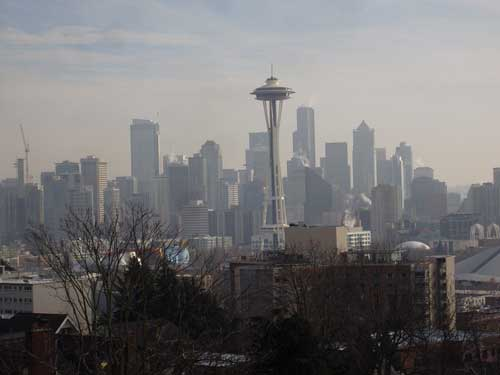 Downtown Seattle, from Kerry Park