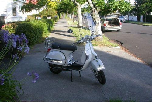 Ken's PX200 in his neighborhood