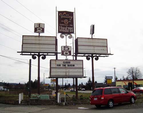 Valley 6 Drive-In, Auburn, Wash.