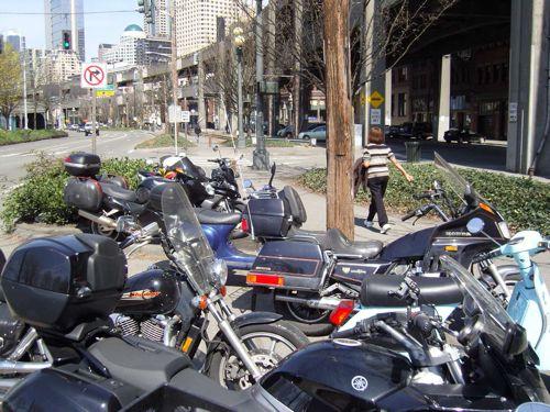 Two-wheeler parking