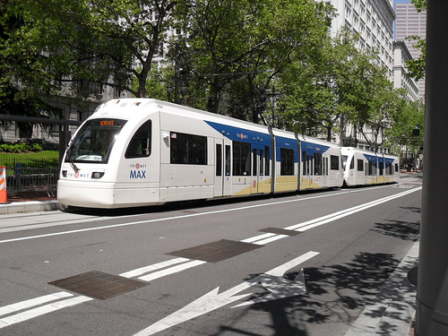 Portland's MAX light rail