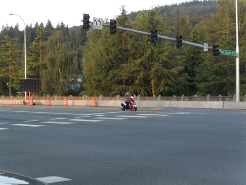 The lone scooter in Issaquah