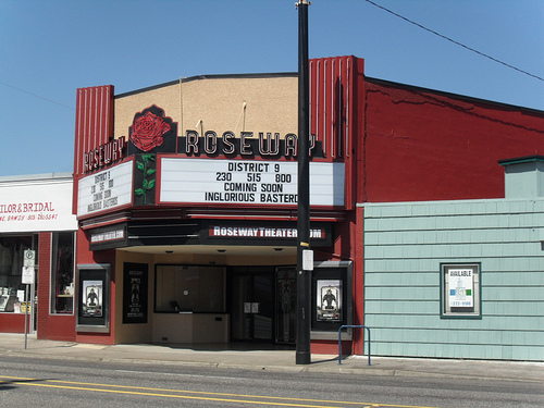 The Roseway Theater on Sandy Boulevard
