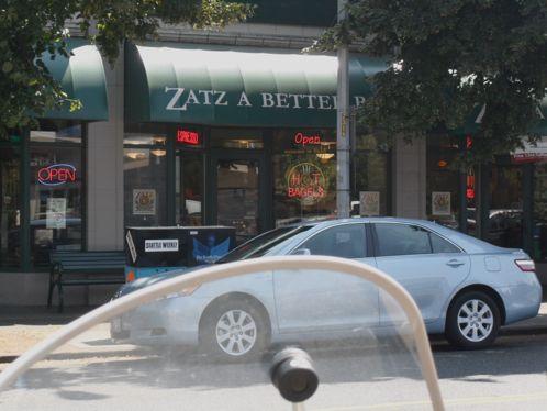 Zatz a Better Bagel, in West Seattle