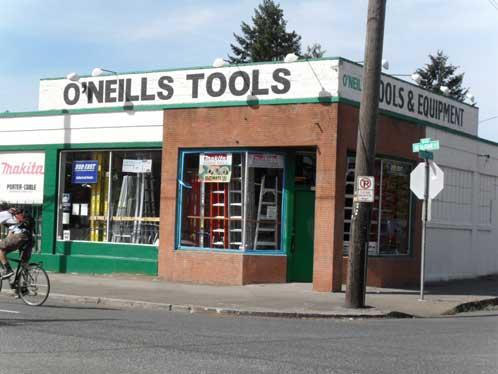 O'Neill's Tools