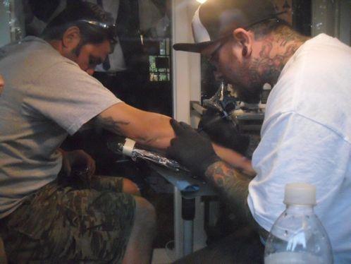 Free tattoo!