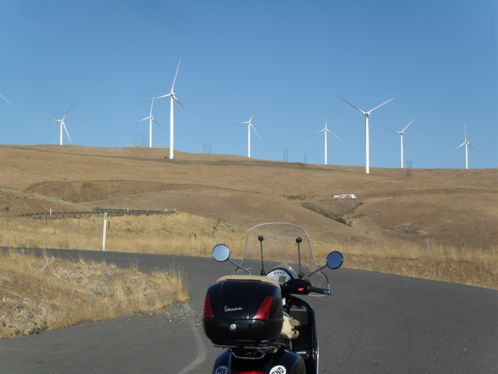 Wind turbines and the GTS