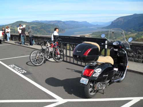 The GTS at Vista House