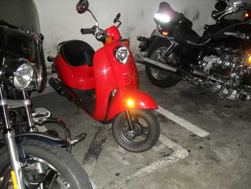 Honda Metropolitan at the Portland V.A. Medical Center