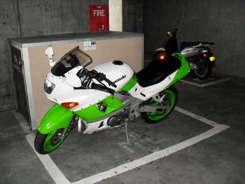 Other motorcycle spaces