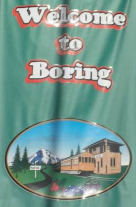 Yes, it's really called Boring