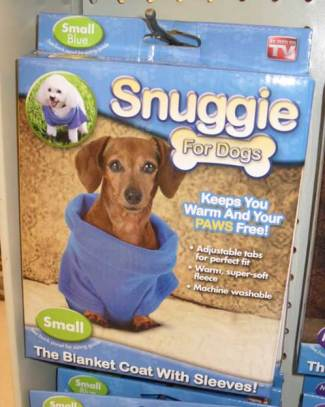 Snuggies® for dogs