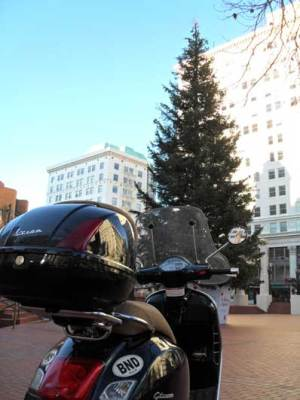 The GTS at Pioneer Courthouse Square