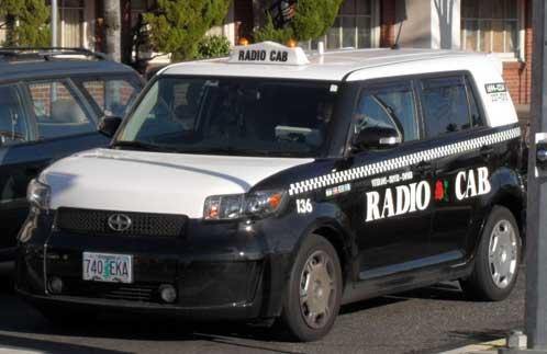 Scion xB taxi