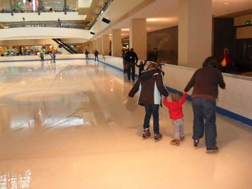 Lloyd Center ice rink