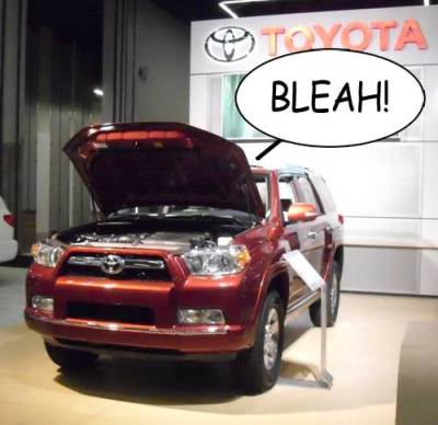 Things are not going well for Toyota at the moment