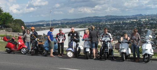 Scooter group shot