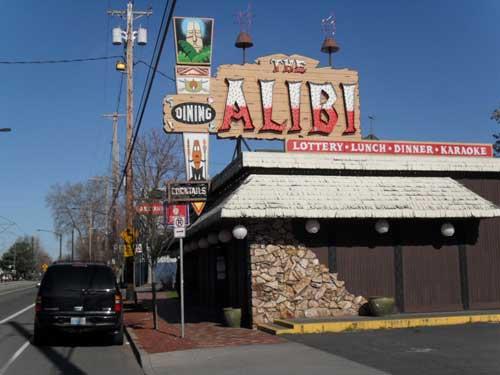 The Alibi lounge & restaurant