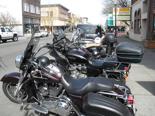 Lost among the Harleys