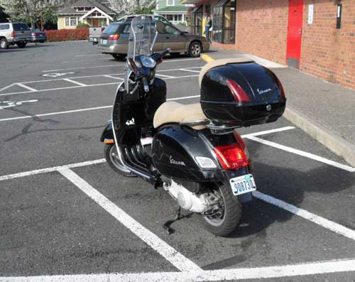 Isn't this scooter parking?