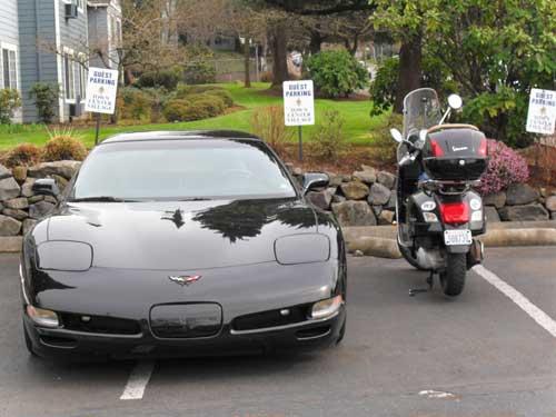 Redemption, parking style