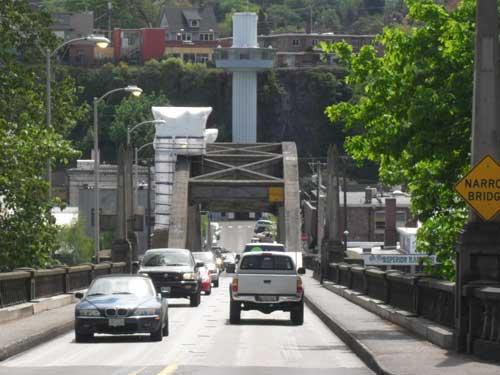 The Oregon City Bridge and Municipal Elevator