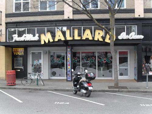 Mallard Ice Cream