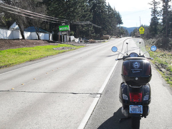 S Samish Way, southbound
