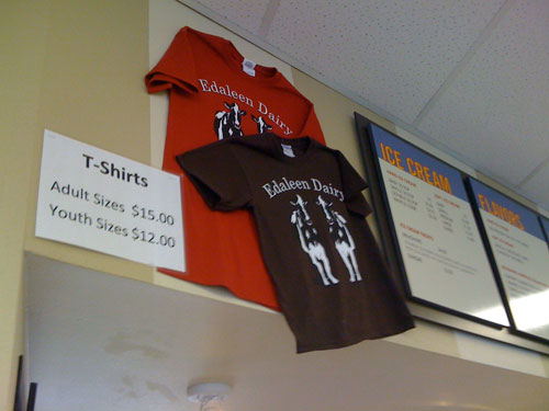 Ed & Aileen's Dairy t-shirts
