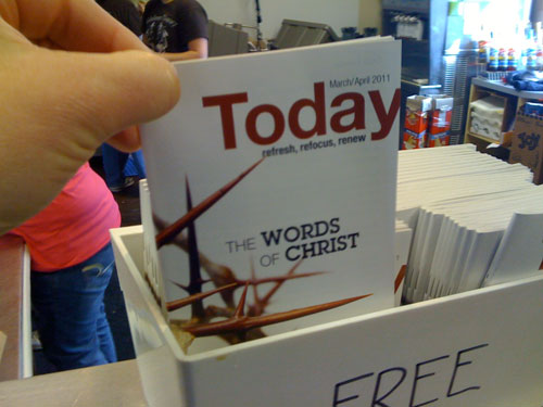 Words of Christ, March/April 2011 edition