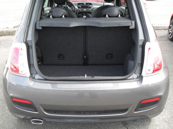Fiat 500 boot