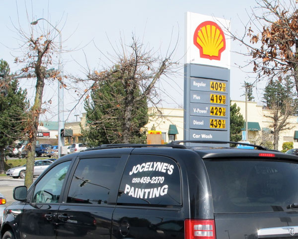 Shell station on Meridian