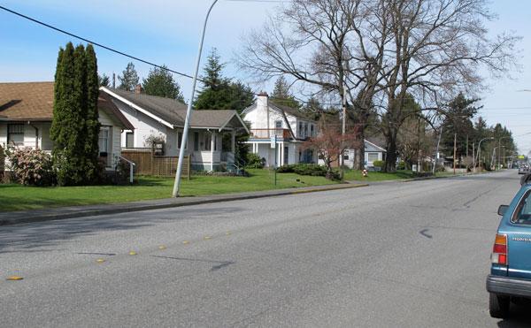 Houses on Meridian