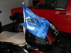 Canucks flag
