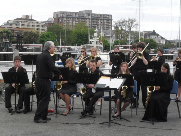 Mt. Baker High School band