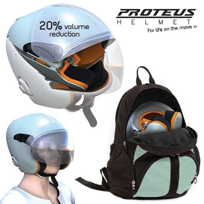 Proteus helmet illustration