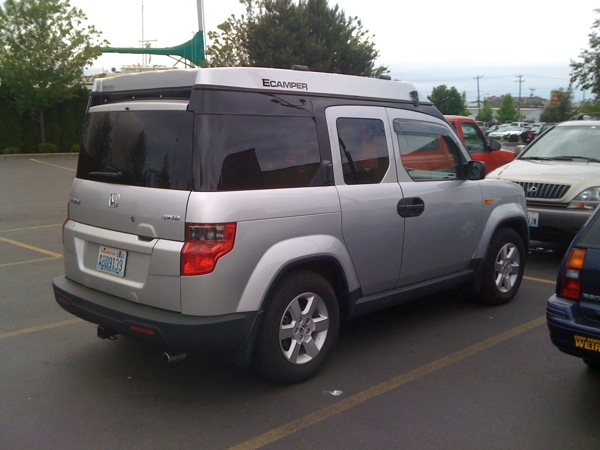 Honda Element Ecamper For Sale >> Elemental Westfalia | Scootin' Old Skool