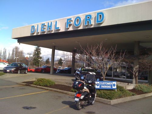 The GTS at Diehl Ford