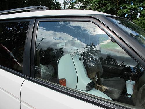 Lambretta passenger