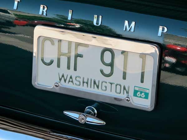 1966 Washington license plate