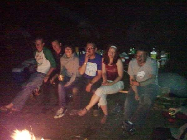 Scooter campfire