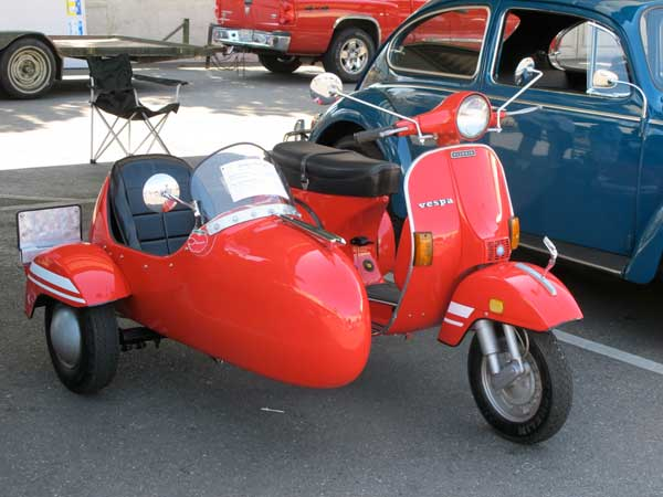 P200 with sidecar