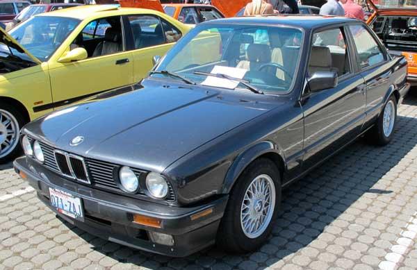 A nice 1991 BMW